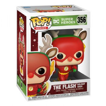 Funko Pop! Vinyl DC Comics Holiday The Flash Holiday Dash Figure - Pre-Order